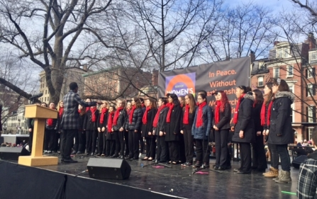 BCC Performs at Boston's Women's March Teaser Photo
